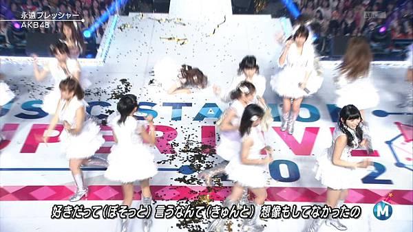 [lwtnbmy] AKB48 - フライングゲット & ギンガムチェック & 永遠プレッシャー & ポニーテールとシュシュ (MSSL 2012.12~.ts_20121223_141458.256