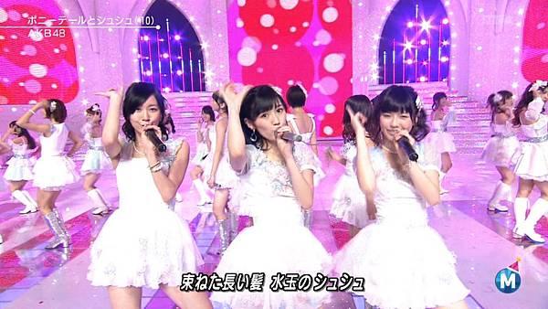 [lwtnbmy] AKB48 - フライングゲット & ギンガムチェック & 永遠プレッシャー & ポニーテールとシュシュ (MSSL 2012.12~.ts_20121223_141647.113