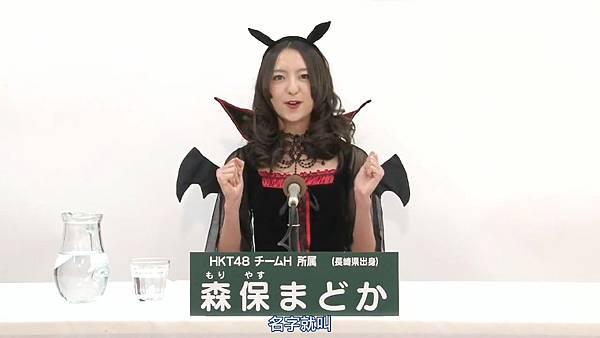 [HKT字幕组]AKB48 32ndシングル 選抜総選挙 アピールコメント HKT48 TeamH.mp4_20130505_143331.447