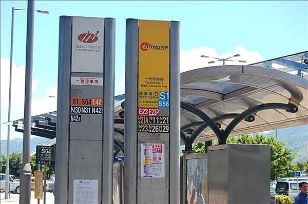 2007.8.3-8.5 機場坐巴士到東涌地鐵站 005