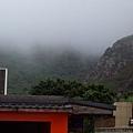 雲霧遼繞的天空一角