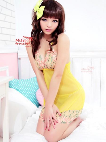 超卡哇伊的網路內衣皇后_甜美情色貼圖