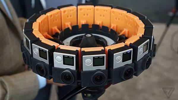 各家VR360全景相機簡介(應該是地表最齊全的了)-Gopro Odyssey