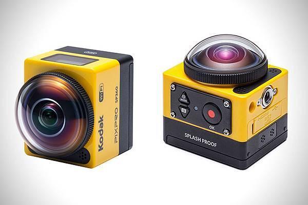 各家VR360全景相機簡介(應該是地表最齊全的了)-Kodak Pixpro SP360