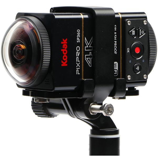 各家VR360全景相機簡介(應該是地表最齊全的了)-Kodak Pixpro SP360 4K