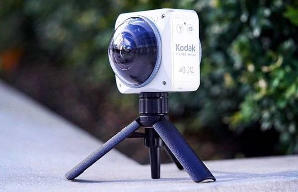 各家VR360全景相機簡介(應該是地表最齊全的了)-Kodak PixPro 4KVR360