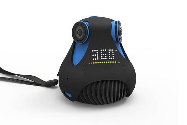 各家VR360全景相機簡介(應該是地表最齊全的了)-Giroptic 360 Cam