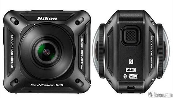 各家VR360全景相機簡介(應該是地表最齊全的了)-Nikon KeyMission 360
