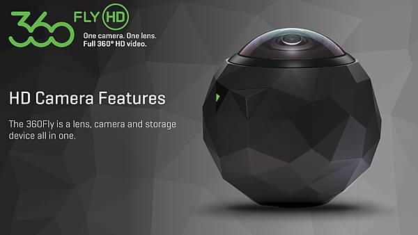 各家VR360全景相機簡介(應該是地表最齊全的了)-360Fly HD