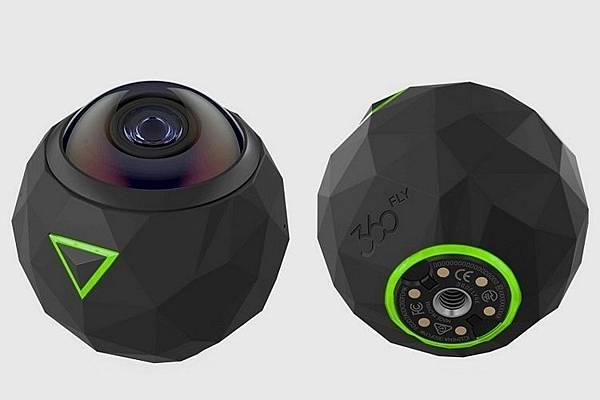 各家VR360全景相機簡介(應該是地表最齊全的了)-360Fly 4K