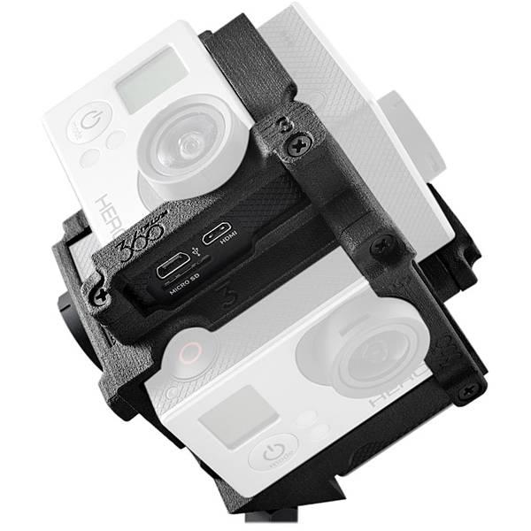 各家VR360全景相機簡介(應該是地表最齊全的了)-Freedom360 GoPro Mount