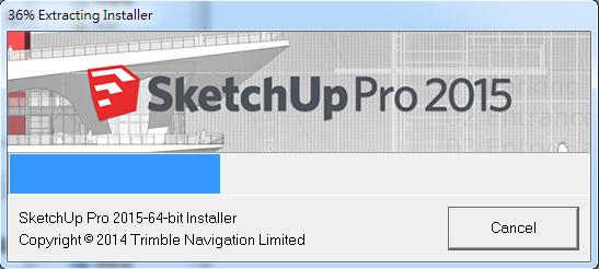 SketchUp 2015 安裝步驟教學 01-JC線上教學