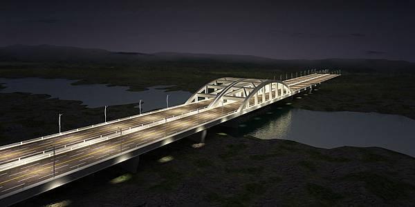 曾文溪橋Type03_night