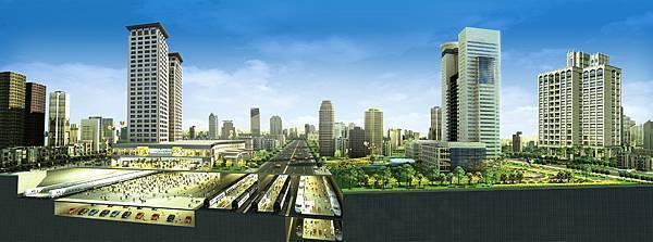 台北官邸-3鐵剖視圖