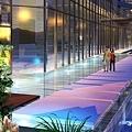 A棟-水池步道
