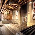 龍騰天母-1F門廳