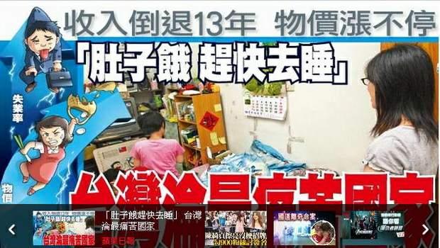 「肚子餓趕快去睡」 台灣淪最痛苦國家-2012.09.24-06