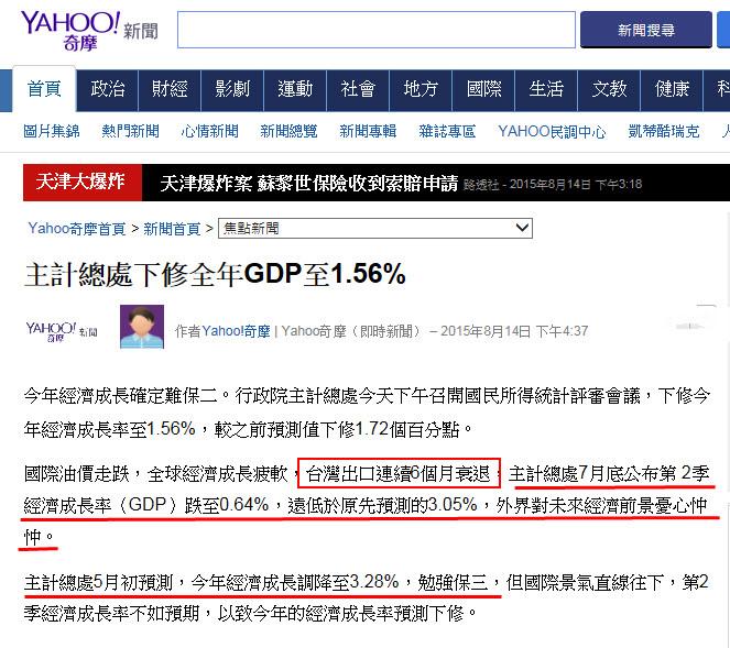 主計總處下修全年GDP至1.56%-2015.08.14-01.jpg