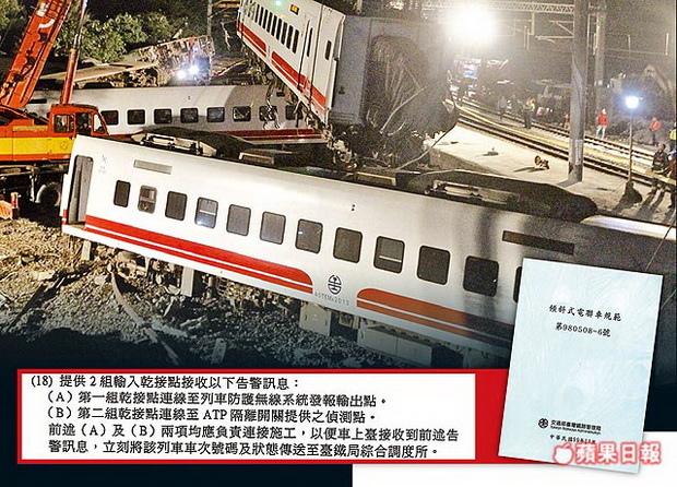 《蘋果》追擊 普悠瑪驗收放水 台鐵前局長還高升-2018.10.26-4.jpg