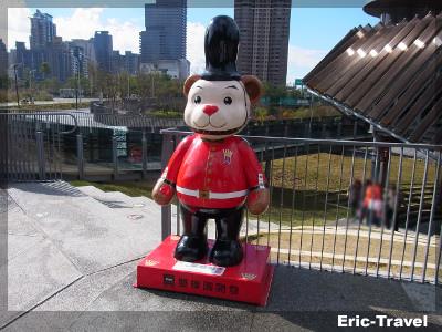 台中-秋紅谷看泰迪熊3