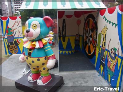 台中-勤美術館看熊去4