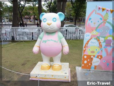 台中-勤美術館看熊去3
