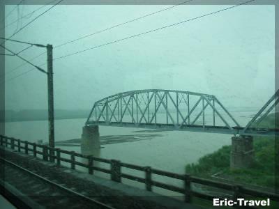 屏東-細雨、鐵橋1