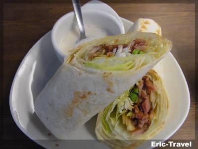 2-高雄前鎮-迪波波藝食館-甘蔗燻肉捲餅1