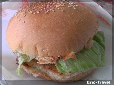 2-屏東-MONIDADA早餐-漢堡1