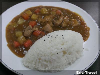 2-高雄三民-曾正日式咖哩飯(熱河店)-雞肉咖哩飯1