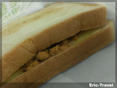 2-屏東-丹丹漢堡(廣東店)-肉鬆蛋三明治1