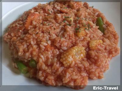 2-屏東-洪家小館-德式香腸義大利飯1