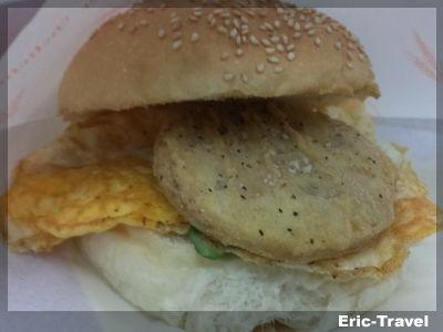 2-屏東-213幸福早餐-漢堡1