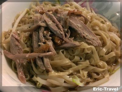 2-屏東-鴨肉飯(建豐路)-鴨肉麵1