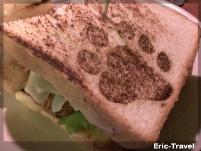 2-高雄苓雅-熊巴土司-私房梅醬佐雞腿排2