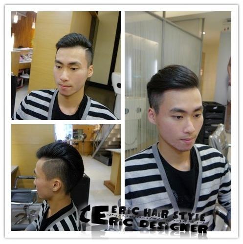 男生髮型紳士油頭