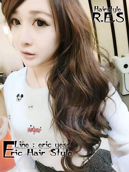 2018女生長髮髮型髮色 三重染髮