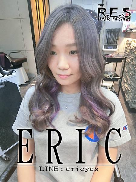 CIMG17女生髮型髮色 深灰X棕灰X亞麻灰X紫灰X粉霧紫60