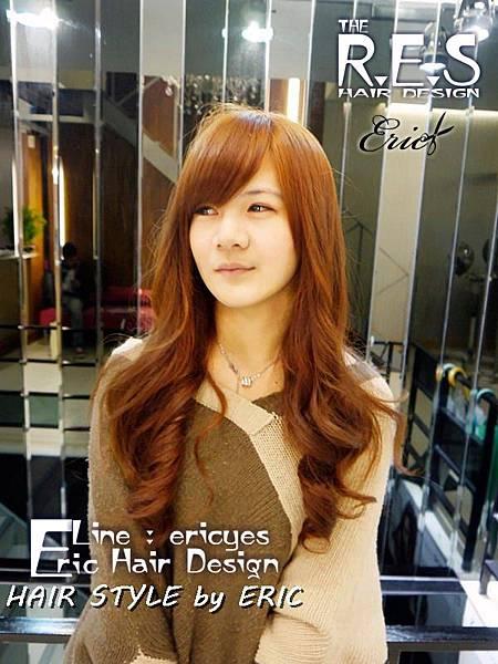 38.女生長髮髮型髮色染髮