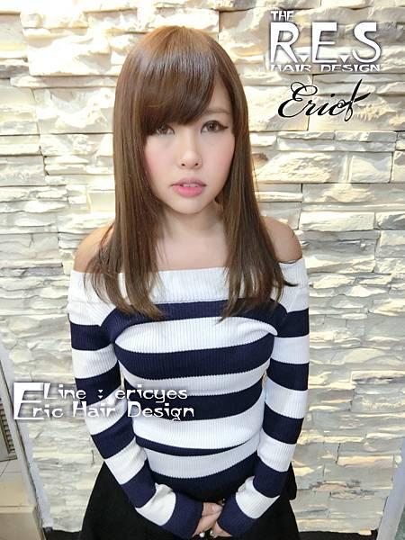 CIMG0343.女生長髮,髮型,髮色,染髮,接髮