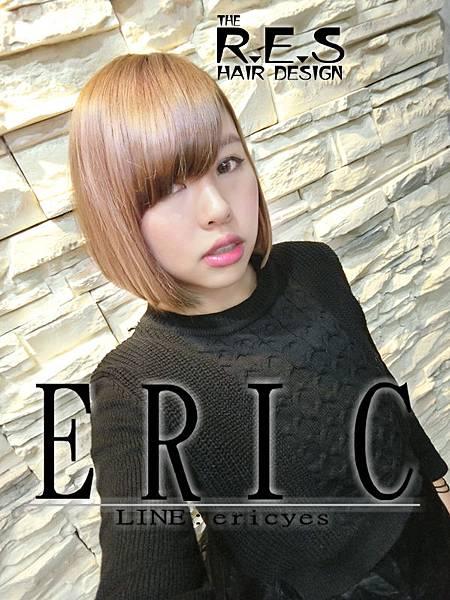 res髮型,2017女生長髮髮型髮色,ERIC設計