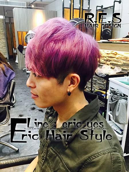 男生髮型,髮色2017