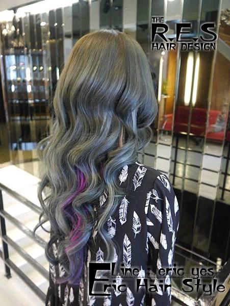 女生長髮髮型髮色.捲髮