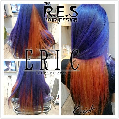 res髮型,女生長髮髮型髮色,男生髮型髮色,ERIC設計