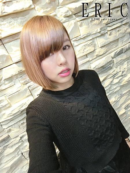 女生短髮髮型髮色