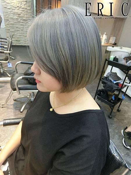 女生短髮髮型髮色2018