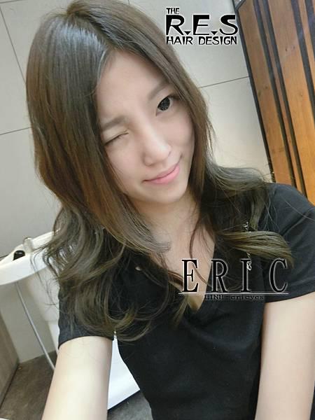 res髮型,女生長髮髮型髮色,ERIC設計