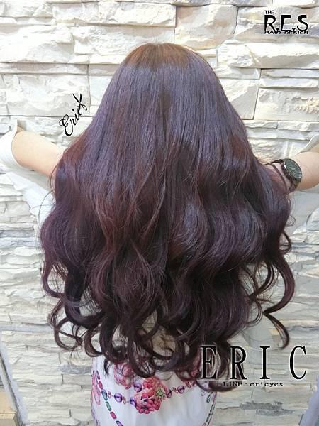 女生長髮髮型髮色