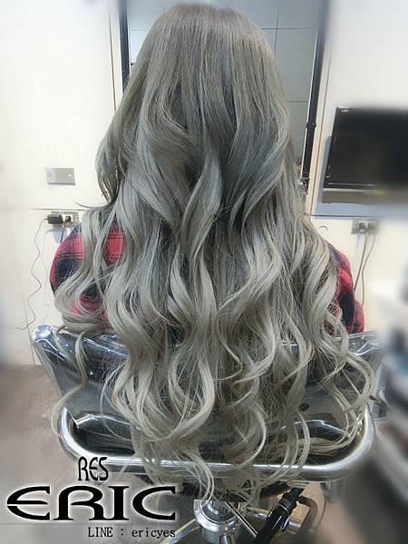 女生髮型髮色染髮接髮2017