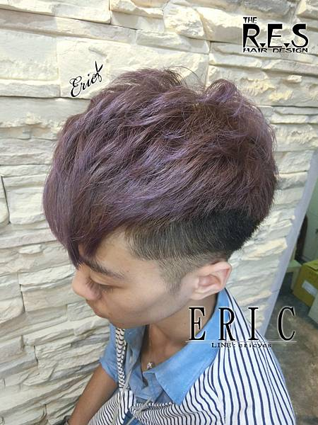 2017男生髮型髮色2018